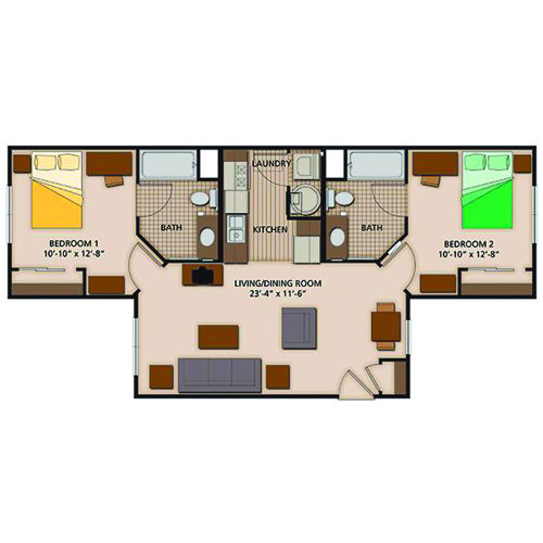 Two Bedroom Select